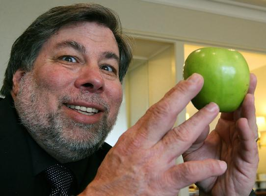 Steve Wozniak is a little manic.